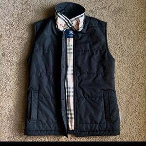 Black Burberry women's Vest Size Xs
